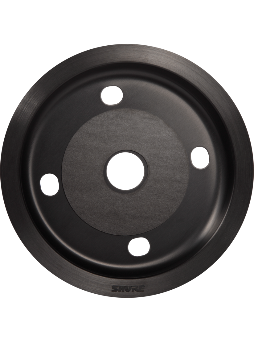 Shure MXA310 Flush Mount Black
