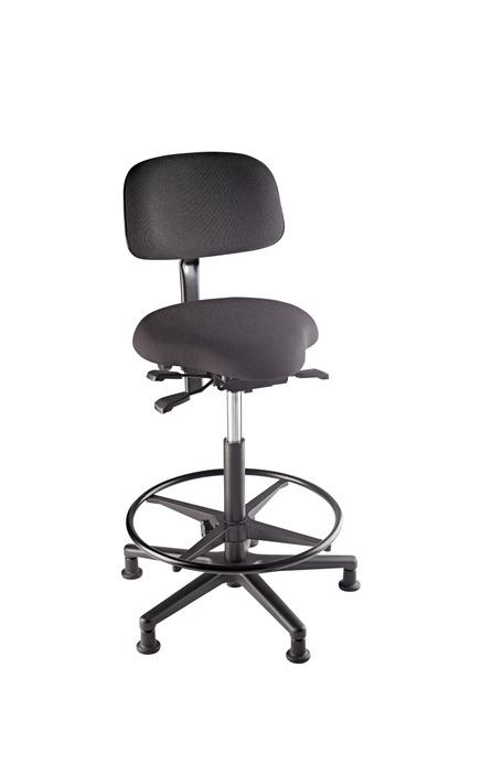 K&M 13460 Basstol, justerbart sete, rygg og fotstøtte