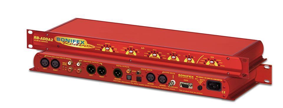 SONIFEX RB AD/DA conv. 24bit 192 kHz