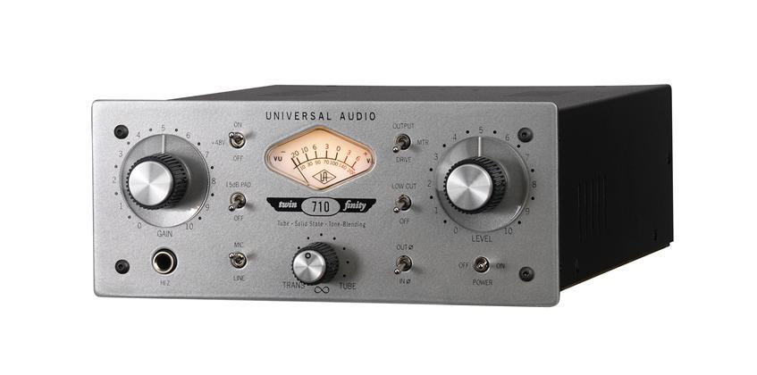 Universal Audio 710 TWin-Finity Single Channel Tube/Solid St