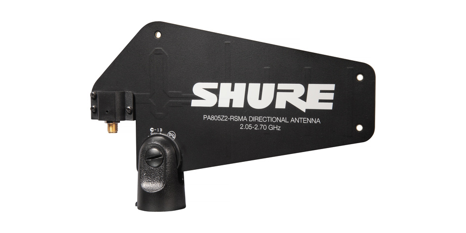 Shure PA805Z2-RSMA Passive Directional Antenna (GLX-D)