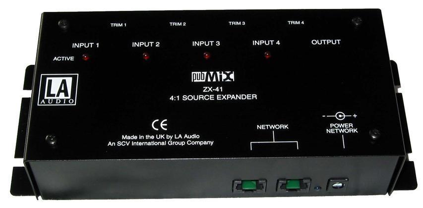 LA Audio 4 way source expander