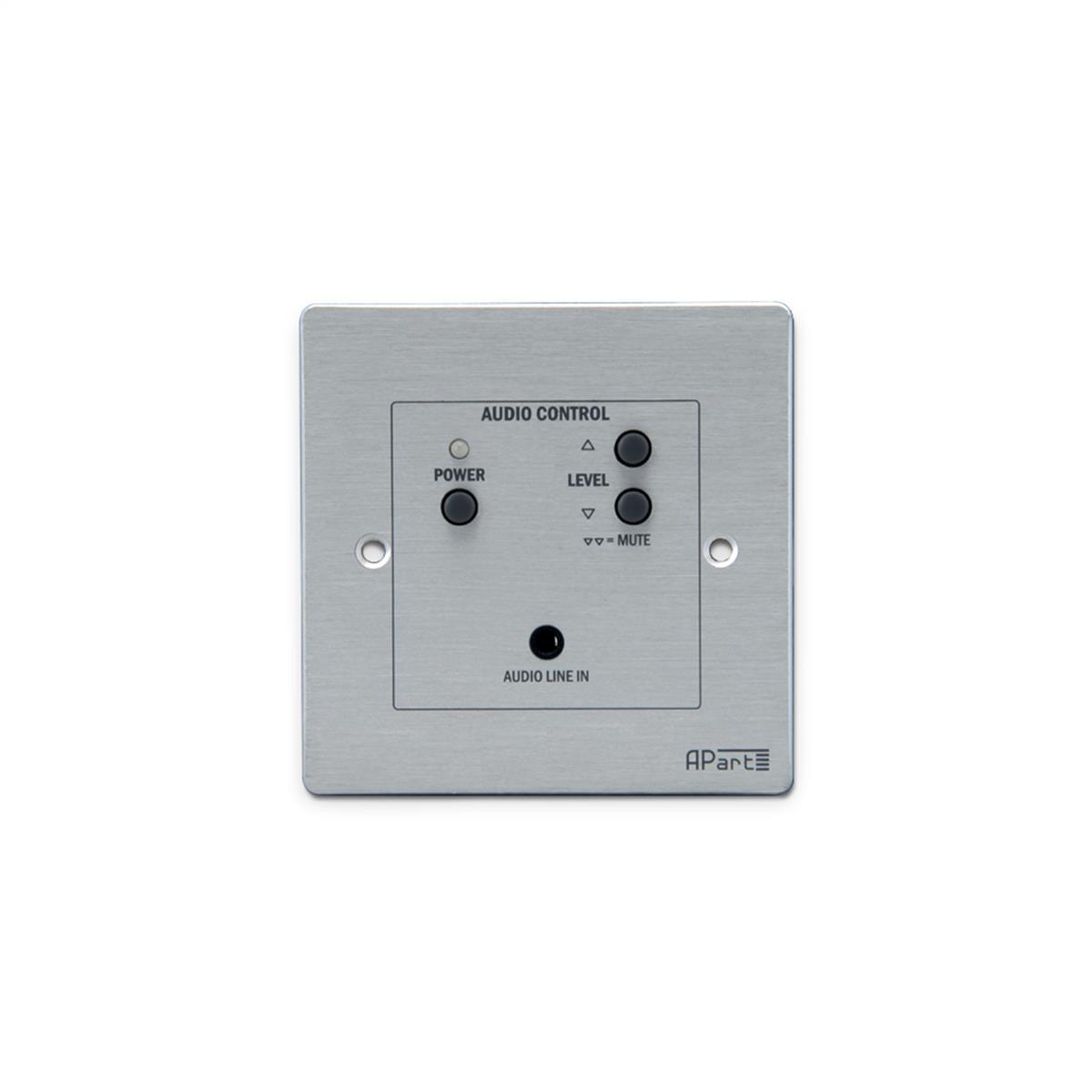 Apart audio kontrol panel med premanent tilkoblet via RJ45