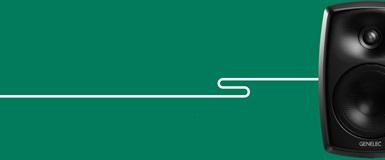 Genelec-installasjon med én enkel kabel