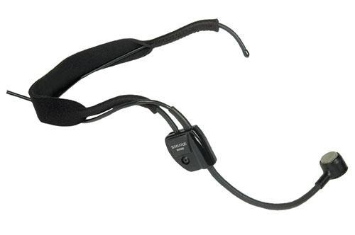 Shure WH20XLR headset mic, dyn XLR