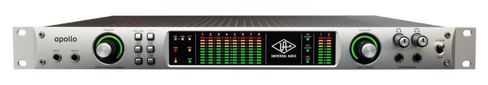 Universal Audio Apollo Audiointerface, Quad DSP, Firewire