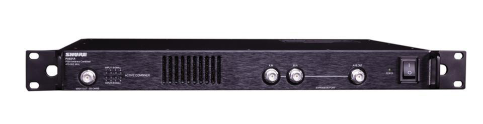 Shure PA821B - 8 Channel Antenna Combiner 470-865MHz