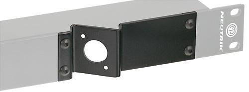 Neutrik skråstilt D kontakt plate