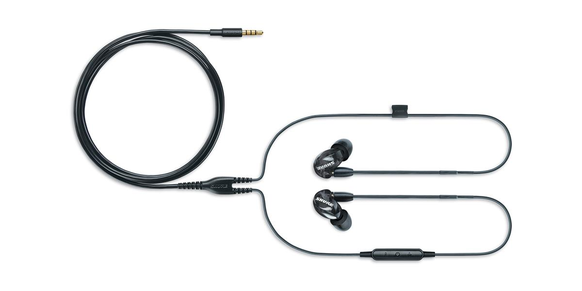 Shure SE215 Earphone (w/ RMCE-UNI), black