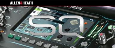 Ny firmware till Allen & Heath SQ