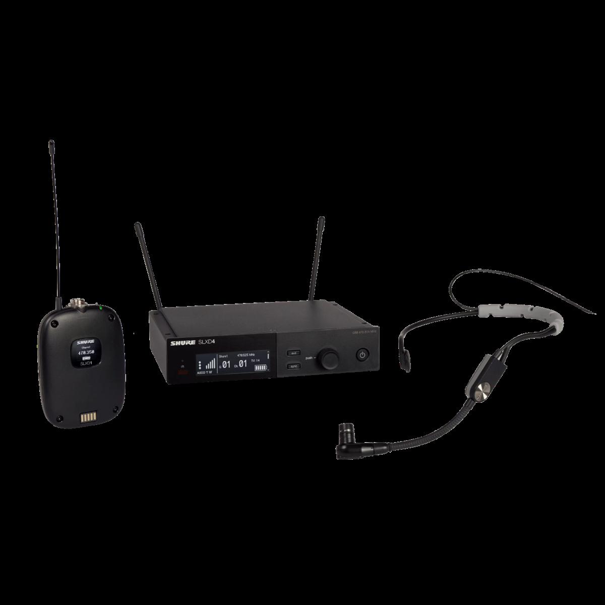 Shure SLX-D Bodypack System SM35 Headset Mic - 518-562MHz