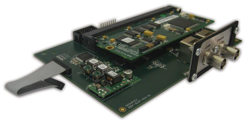 Sonifex Ref. Monitor HD-HDI & DolbyE kort