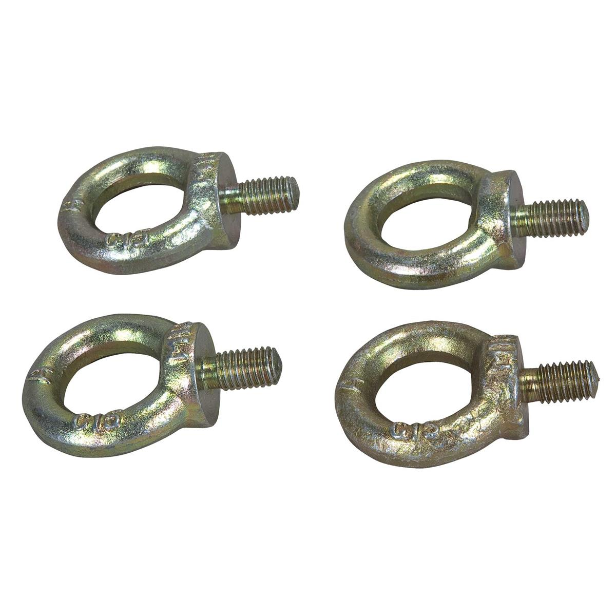 RCF Set of 4 eye bolts