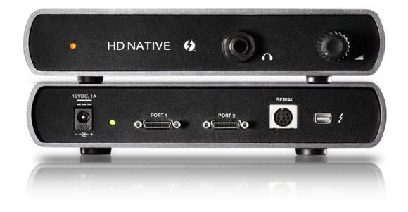 Avid Pro Tools HD Native Thunderbolt, u PTHD software