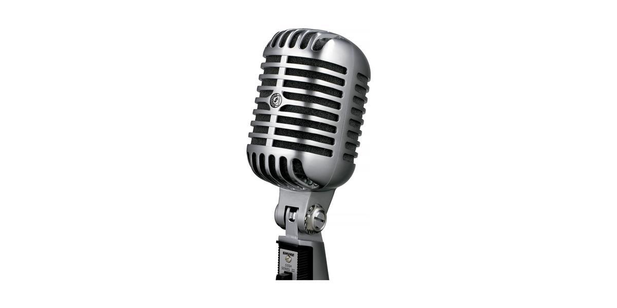 Shure 55H Series II Dynamic Cardioid Microphone Elvis