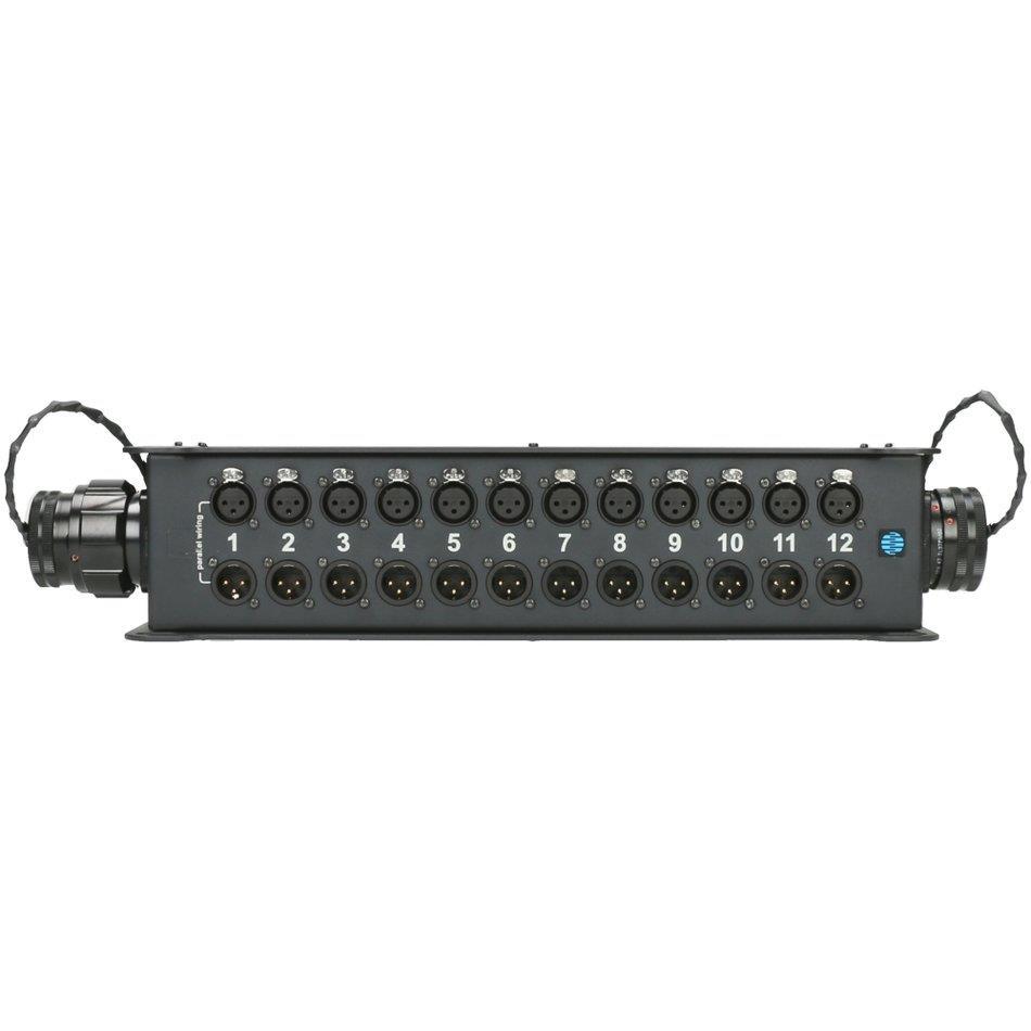 Klotz StraightLink floorbox 12 ch XLRF-M/F RMP 37p