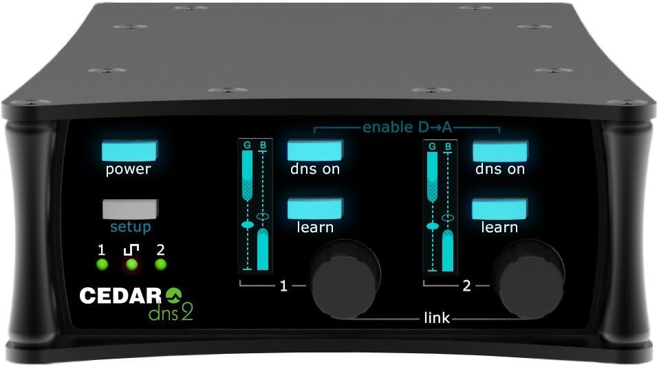 CEDAR DNS2 Portable 2-channel dialogue noise suppressor