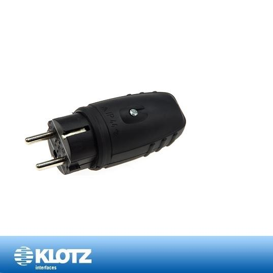 Klotz Schuko plugg Han IP44 16A