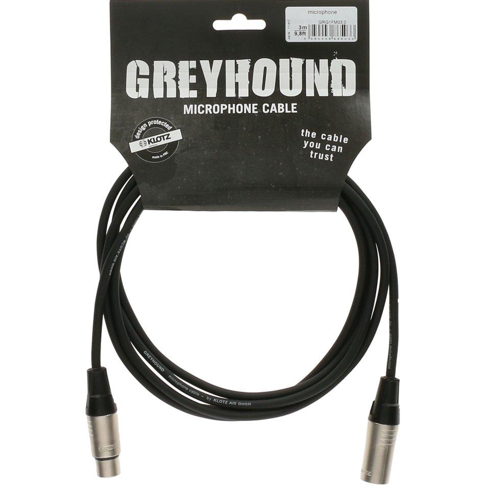 Klotz Greyhound microphone Cable 1,5m