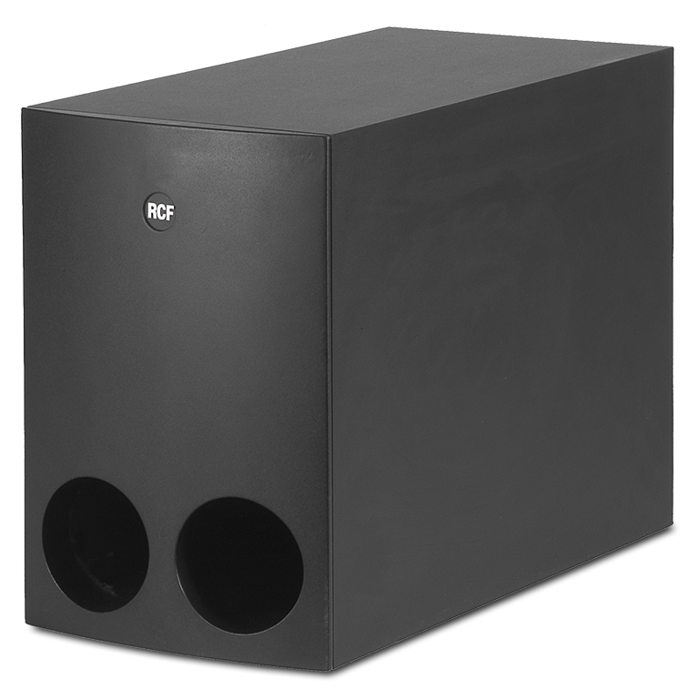 RCF MQ 90S B 8in band pass subwoofer, 60 W (Black colour)