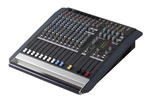A&H PA12 8 Mono 2 Stereo
