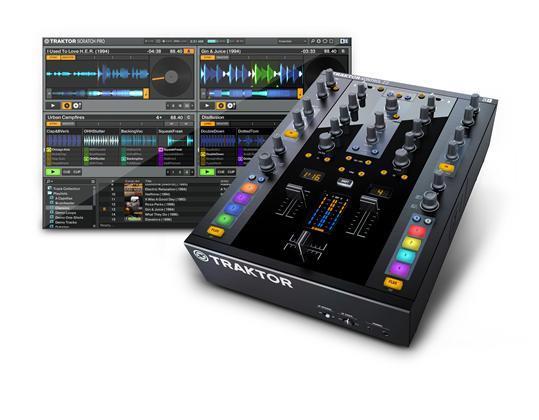 Native Traktor Kontrol Z2 DJ-mixer och kontroller (22140)