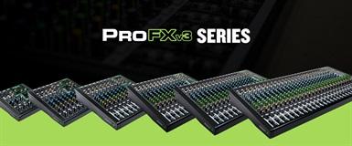 ProFXv3, en ny serie med miksere fra Mackie