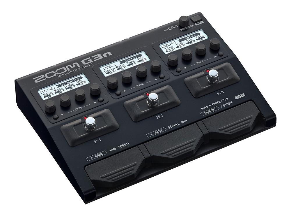 Zoom G3n gitar effektpedal og amp simulator