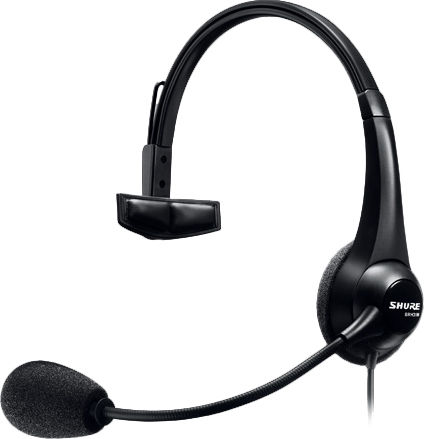 Shure BRH31M Single-Sided Broadcast Headset(4pin female XLR)