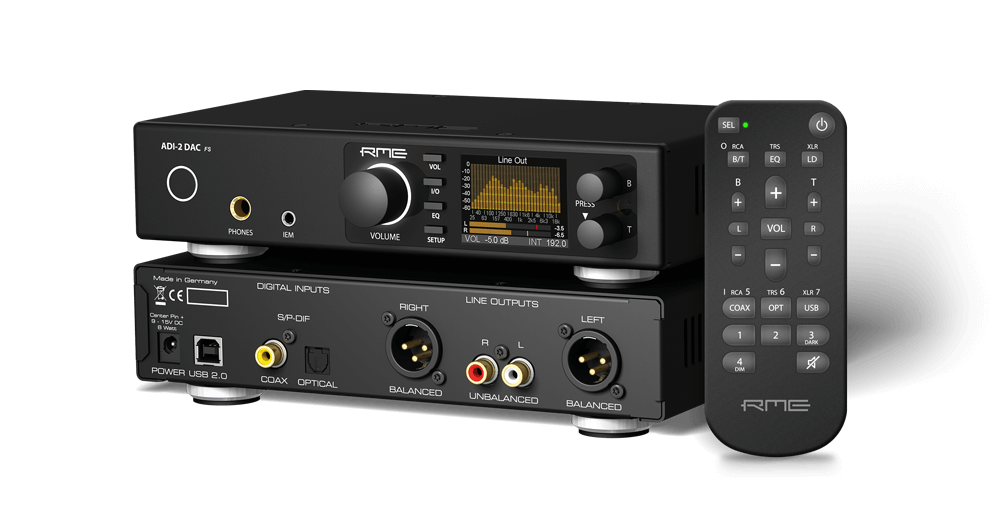 RME DAC and Headphone amp, 768kHz