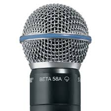 Shure Beta58 mikrofonelement superkardioide for Shure håndse