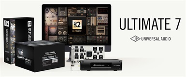 Universal Audio lanserer UAD-2 Octo Ultimate 7.