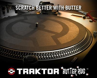 Native Traktor Butter Rug vinyl slipmat (2 stk) 21402