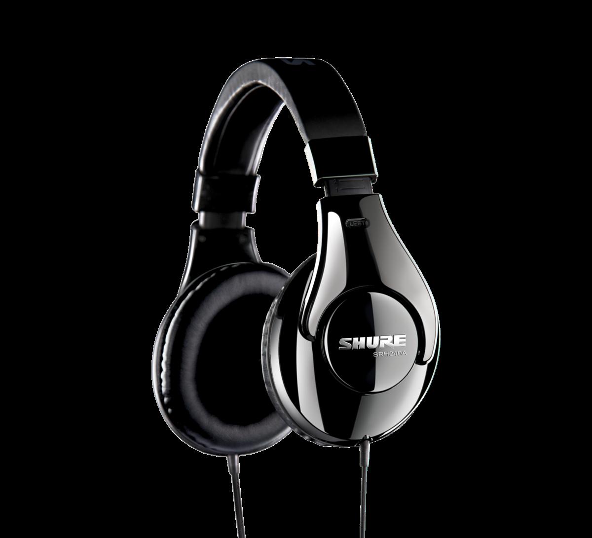 Shure SRH240A-E headphones