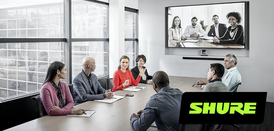 Shure Microflex – hvilken mikrofon passer ditt møterom?