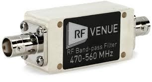 RF Venue Bandpass Filter 470-560MHz