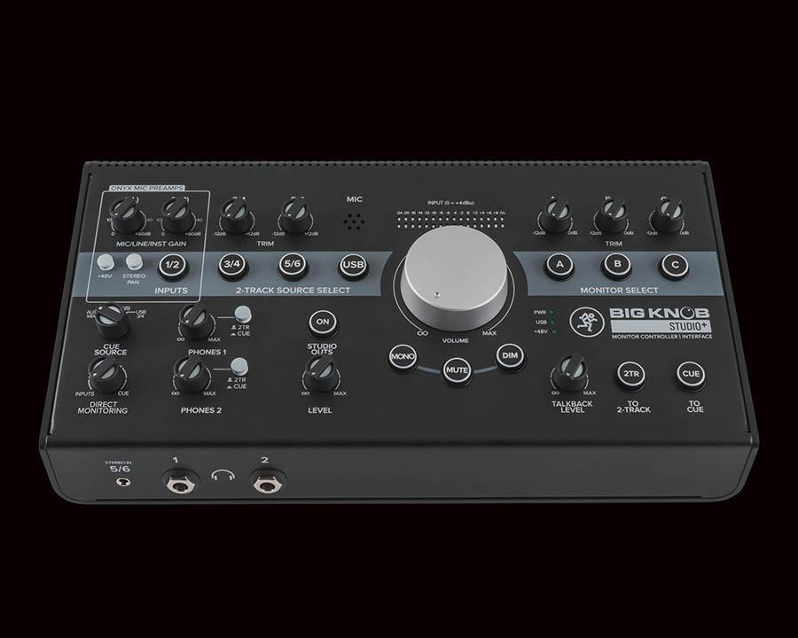 Mackie Big Knob 4x3 studio monitor controller,192kHz,USB I/O