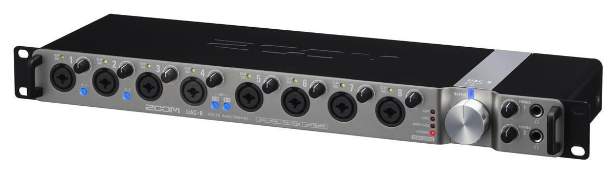 ZOOM UAC-8 USB 3.0 Audio Interface / lydkort