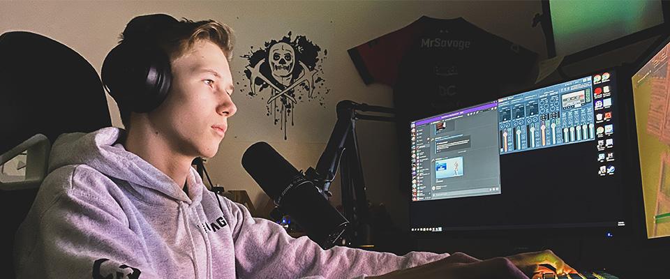 MrSavage en av Norges største streamere