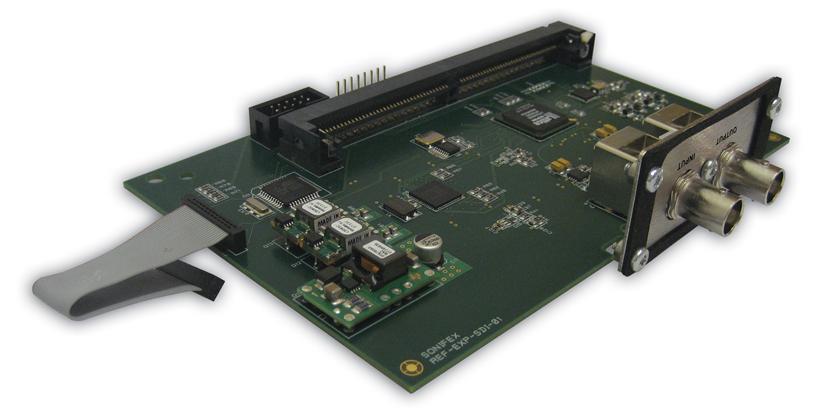Sonifex Ref. Monitor HD-HDI kort