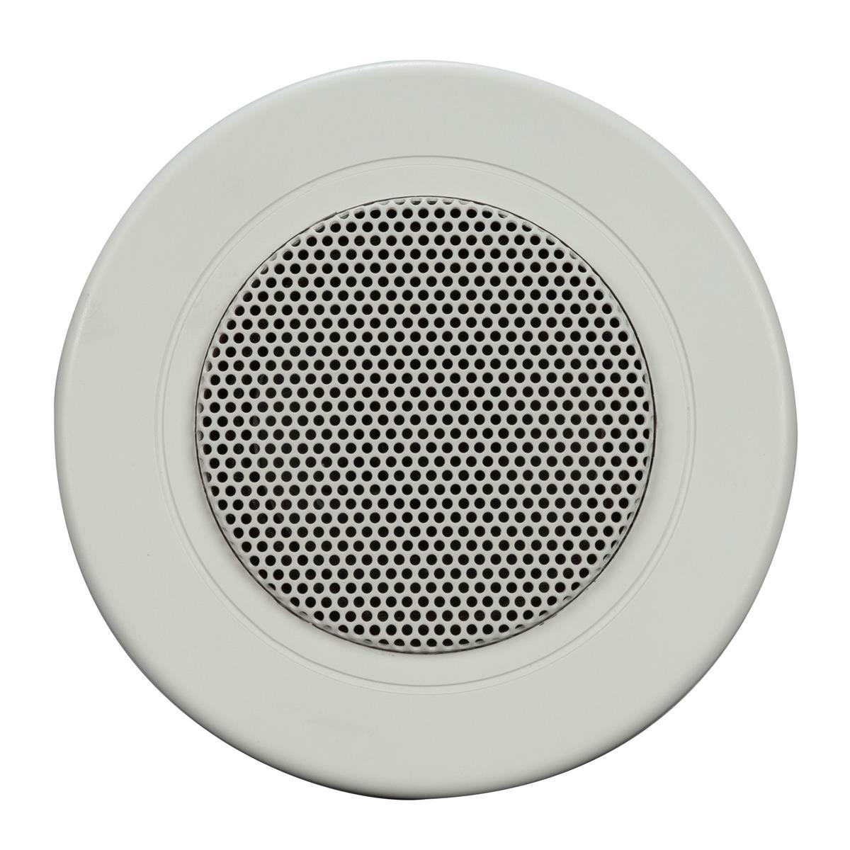 RCF White frame Spot-Light ceiling speaker; 6W, 70-100V, HI-