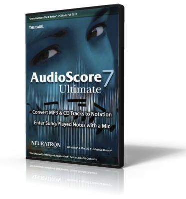 Sibelius Audioscore Ultimate 7