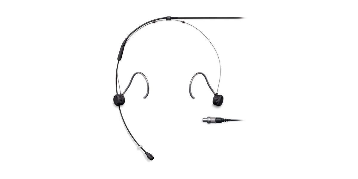 Shure TH53 Headset Omni 1.6mm Cab LEMO Black