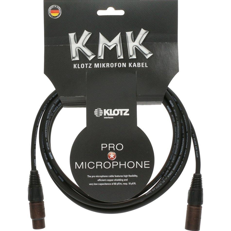 Klotz KMK pro microphone cable 3m