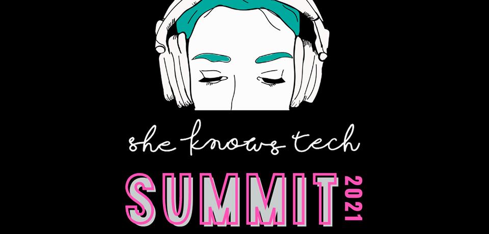 Genelec er stolt sponsor av She Knows Tech Summit 2021