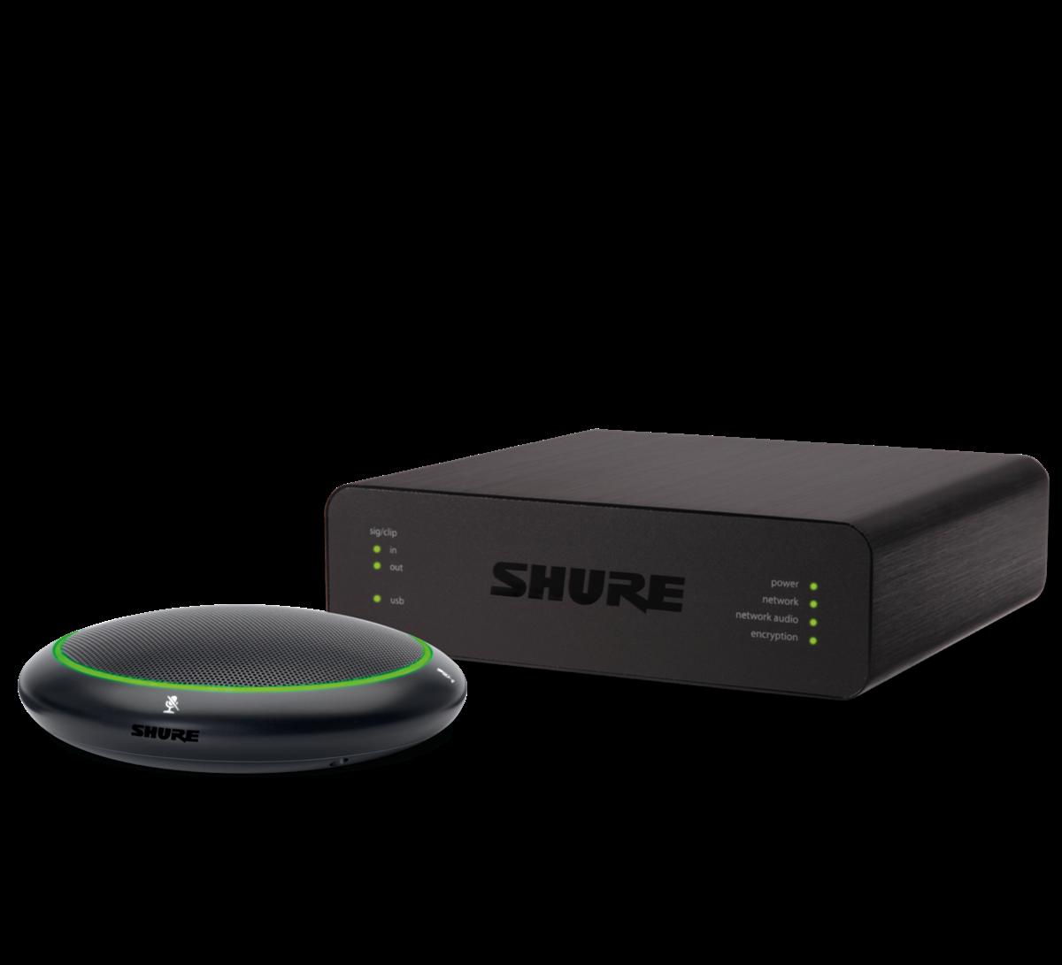 Shure MXA310 and ANIUSB Table Array Intellimix White