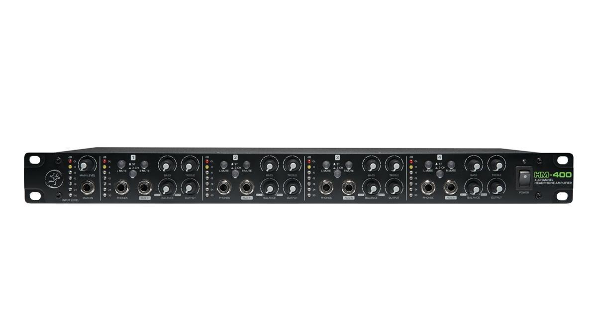 Mackie HM-400 Headphone Amplifier, 4-channel