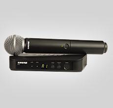 Shure BLX24 vokal system med SM58 (S 8)
