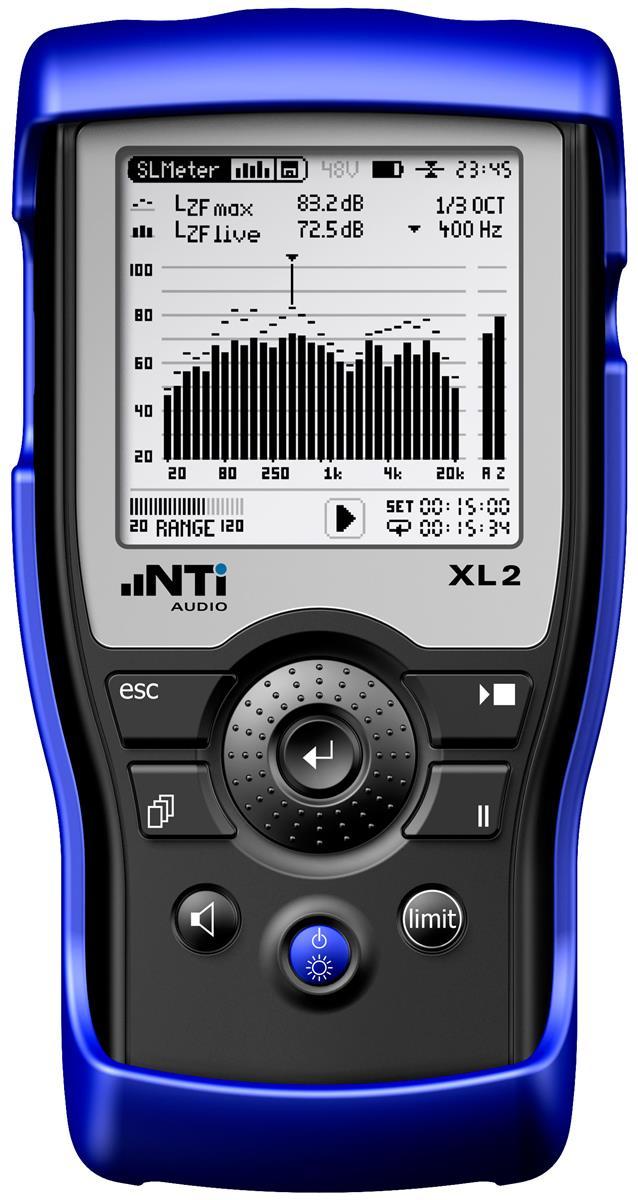 NTI XL2 Håndholdt audio-/akustikkanalysator.