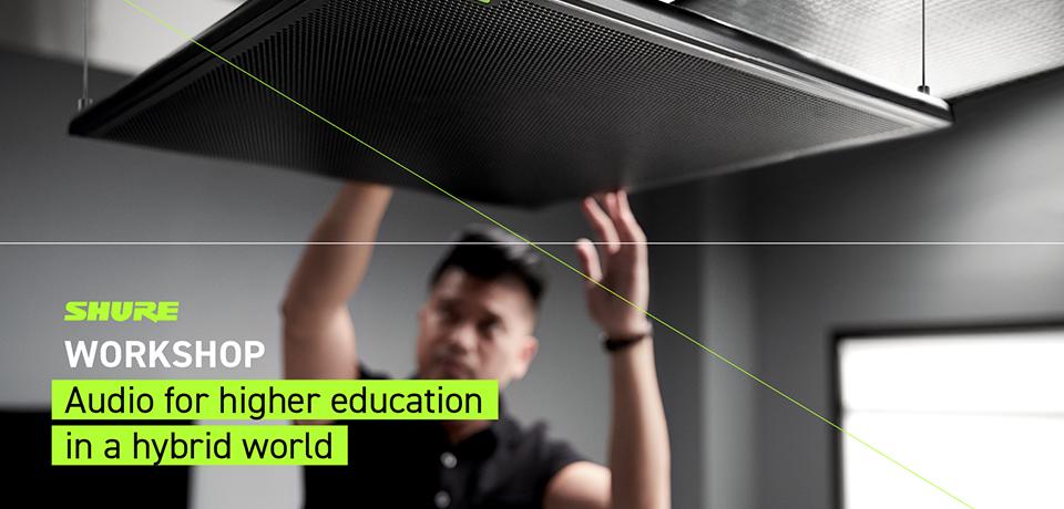 Workshop – Lyd for høyere utdanning